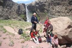 Geocaching cerca de Cascadas del Arcoiris