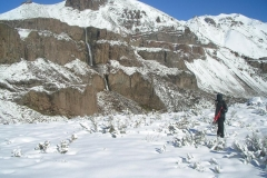 Trekking con raquetas de nieve